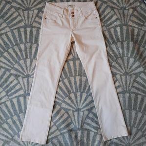 CAbi Straight Leg Jeans Blush Pink size 6